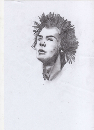 Sid Vicious by crazyspongy93